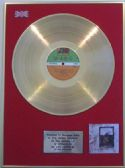 LED ZEPPELIN  - LP 24 Carat Gold Disc  LED ZEPPELIN  IV